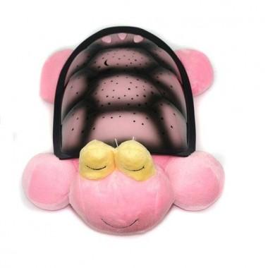 Музыкальный ночник-проектор Snail Twilight с USB-кабелем Pink