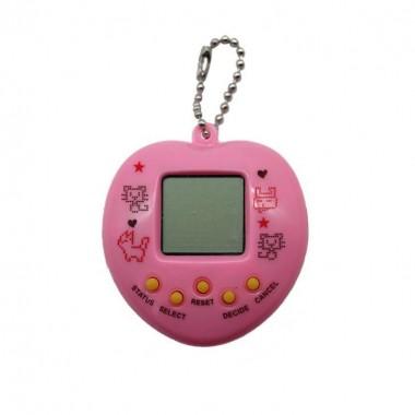 Тамагочи Keychain сердце Розовый