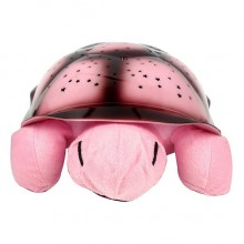 Музыкальный ночник-проектор Turtle Night Sky Pink