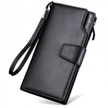 Мужской портмоне Baellerry S1063 Black