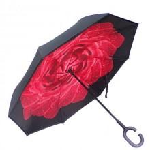 Зонт обратного сложения Vip-brella Азалия Красная роса