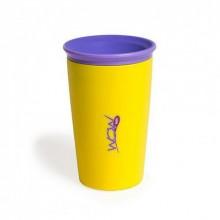 Детский стакан-непроливайка Wow Cup Желтый