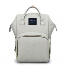 Сумка-рюкзак для мам Baby Mo Серая (LX-583429)