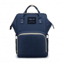 Сумка-рюкзак для мам Baby Mo Синяя (LX-583430)