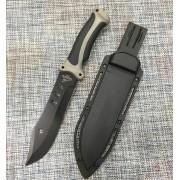 Охотничий нож 30,5 см антибликовый GERBFR 1848c фиксированным клинком
