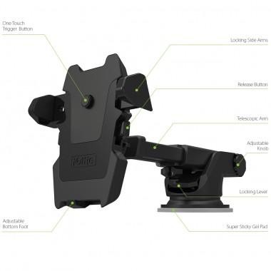 Автомобильный держатель Long Neck Universal для устройств шириной от 55 мм до 90 мм