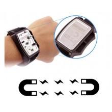 Браслет магнитный Jakemy JM - X4 (Удерживает шурупы, биты, сверла на вашей руке)