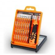 Набор инструментов Jakemy 32 в 1 Для ремонта телефонов, iphone, Apple iPad, ноутбуков, РС техники