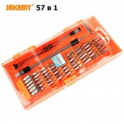 Набор инструментов Jakemy 58 в 1 Для ремонта телефонов, iphone, Apple iPad, ноутбуков, MacBook, РС техники