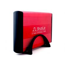 "Внешний карман Shuole для HDD 3.5"" USB 3.0 SATA интерфейс (Красный)"
