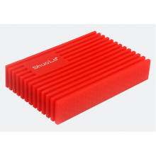 Внешний карман Shuole siliconeUSB 3.0 SATA HDD 2.5 оригинал (Красный) с СУПЕРЗАЩИТОЙ от Падений!