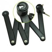 Велозамок ETOOK из Закаленных Стальных пластин с Защитой цилиндра от высверливания.