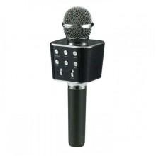 Беспроводной портативный микрофон для караоке Wster WS-1688 Оригинал Black (USB/Bluetooth/AUX)